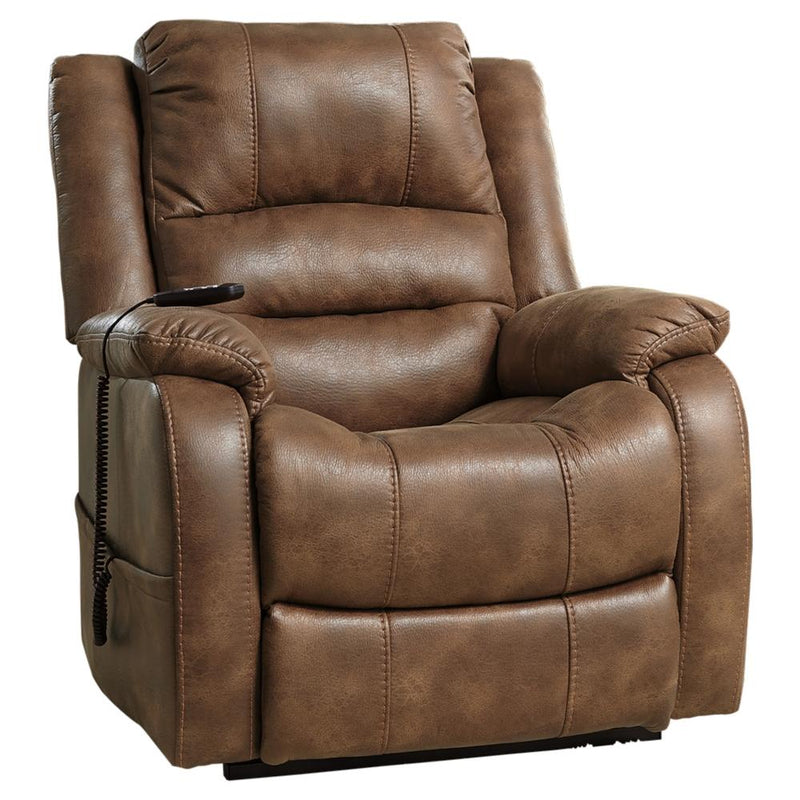 Yandel Power Lift Recliner - Al Rugaib Furniture (4647809646688)