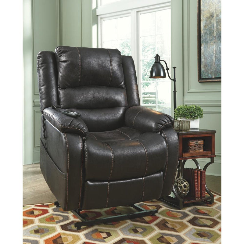 Yandel Power Lift Recliner - Al Rugaib Furniture (4647813906528)