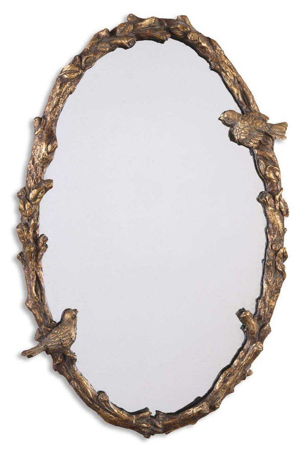 PAZA OVAL MIRROR - Al Rugaib Furniture (4530335154272)