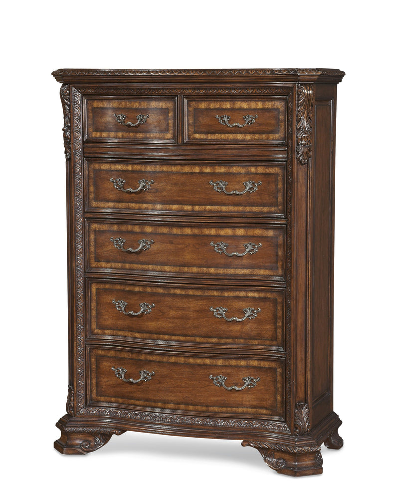 Old World- Drawer Chest  (4568165023840)
