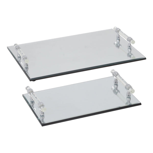 S/2 MIRRORED TRAYS (4462584332384)