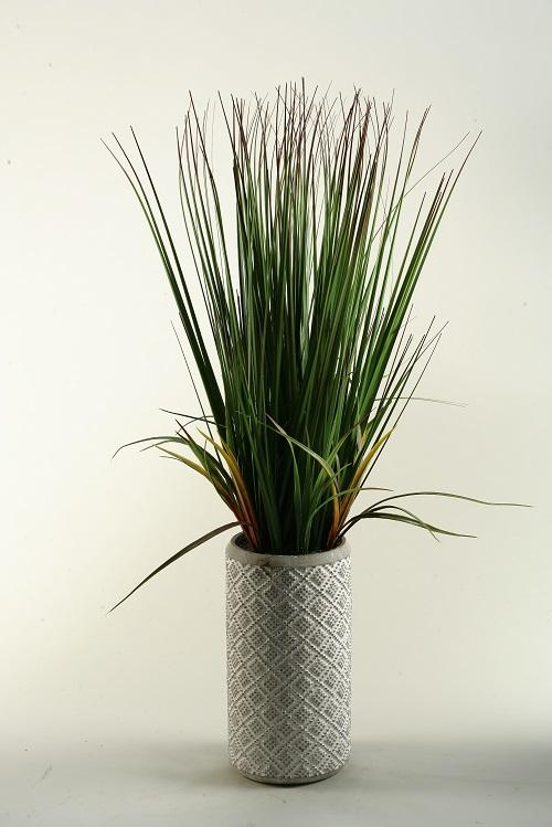 32″ Onion grass in ceramic planter - Al Rugaib Furniture (4260902862944)