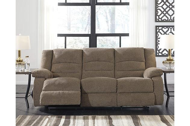 Nason Recliner Sofa - Al Rugaib Furniture (1855336644704)