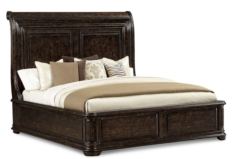 Collection  One - 6/6 Sleigh  Bed - Al Rugaib Furniture (2233711558752)