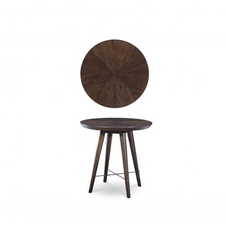 Epicenters - Williamsburg Round End Table (764765405280)