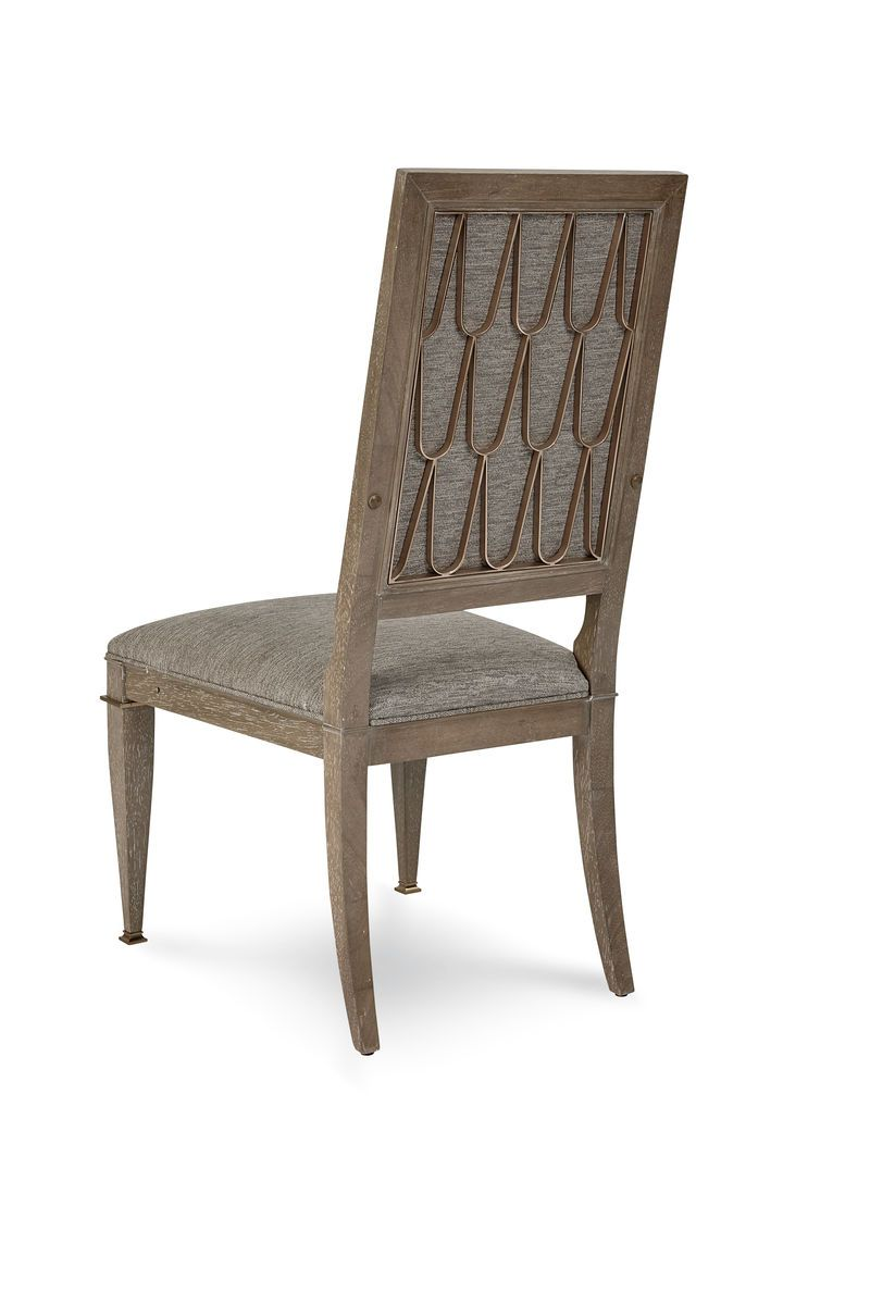 Cityscapes - Bleecker Uph Back Side Chair - Al Rugaib Furniture (352832782364)