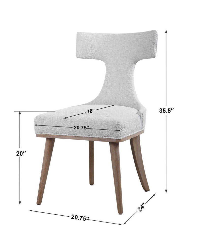 KLISMOS ACCENT CHAIR, 2 PER BOX (4557348143200)
