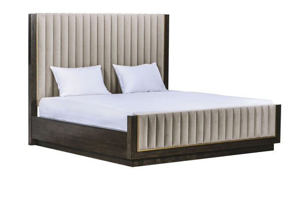 WoodWright - 6/6 Mulholland Uph Bed - Al Rugaib Furniture (4566925672544)