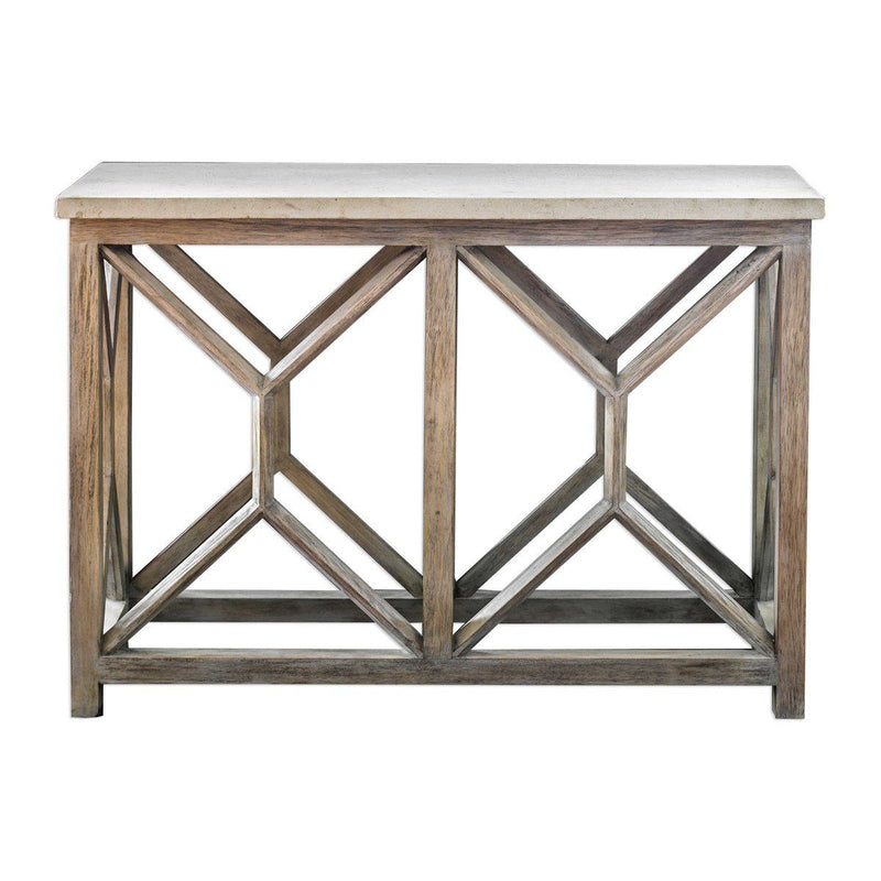 CATALI CONSOLE TABLE - Al Rugaib Furniture (4535903780960)