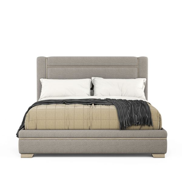 6/6 Upholstered Panel Bed (4799819710560)