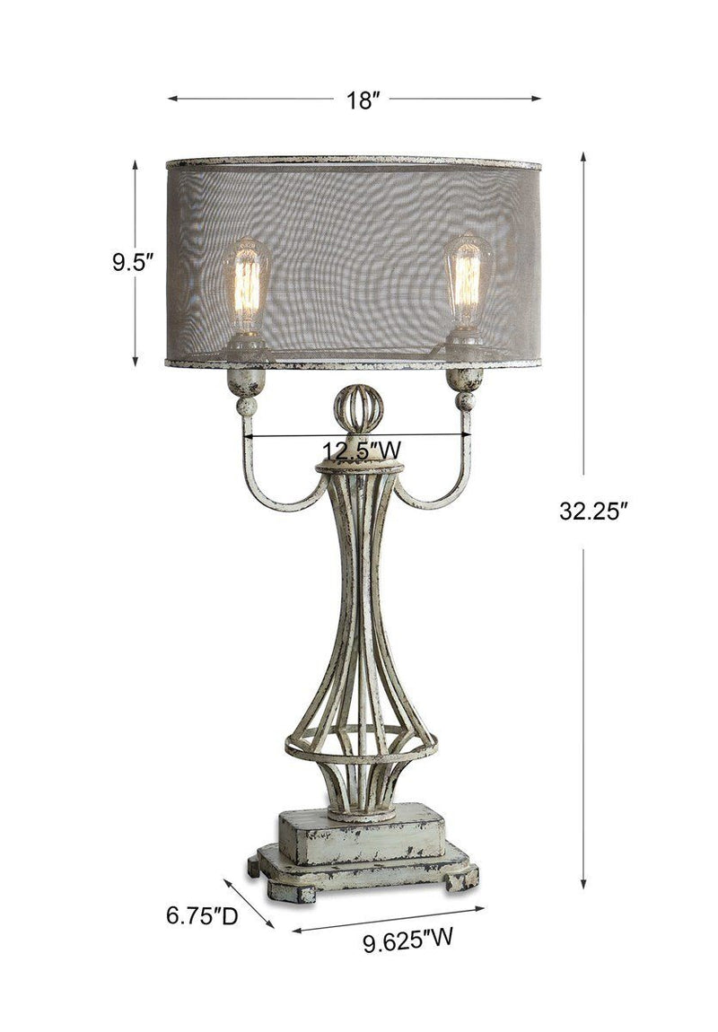 PONTOISE TABLE LAMP - Al Rugaib Furniture (4660038795360)