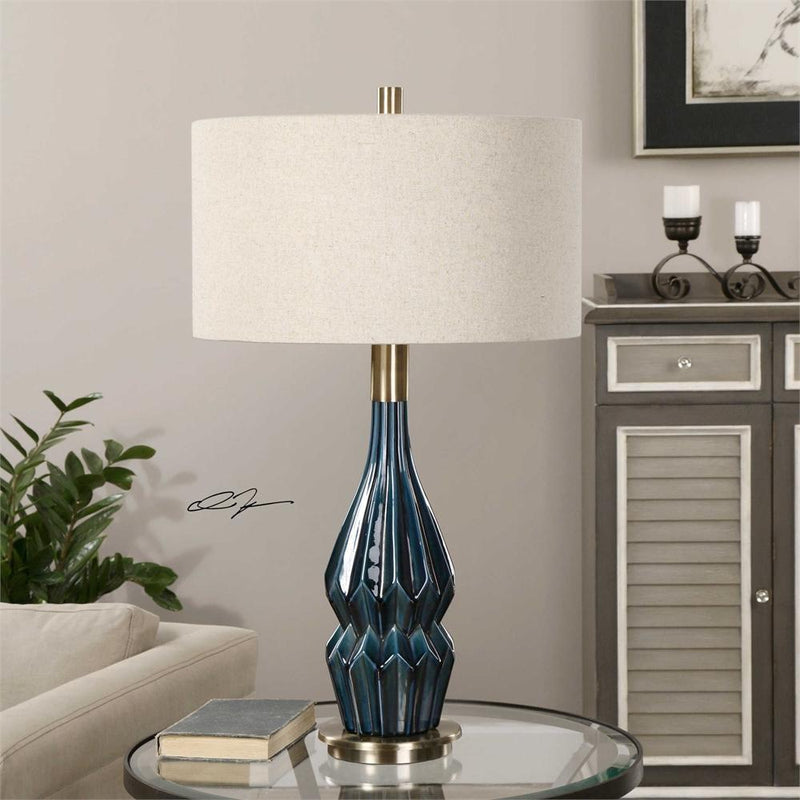 Uttermost - PRUSSIAN TABLE LAMP (4483212148832)