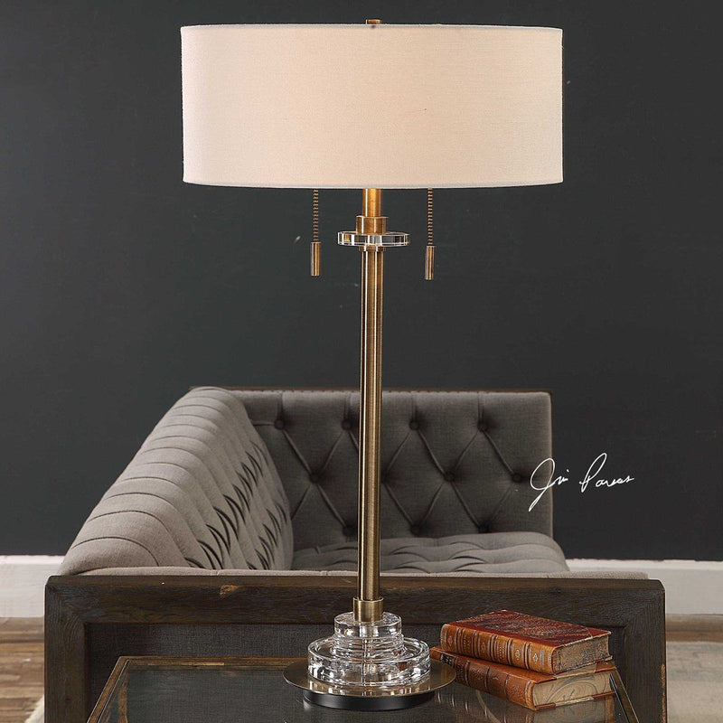 HARLYN TABLE LAMP - Al Rugaib Furniture (4658750554208)