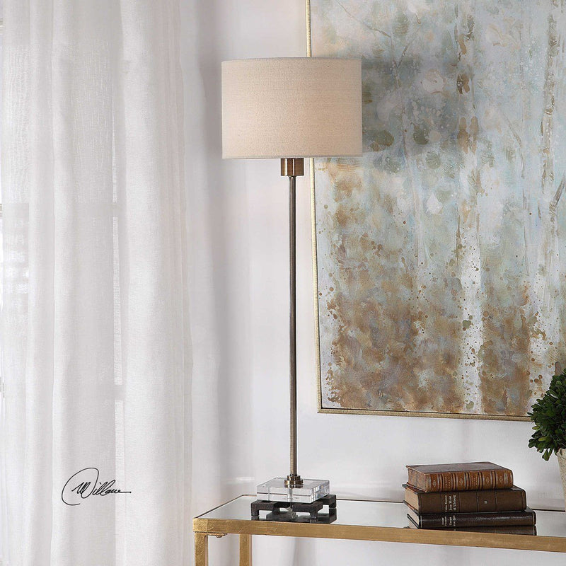 DANYON TABLE LAMP - Al Rugaib Furniture (4658752880736)