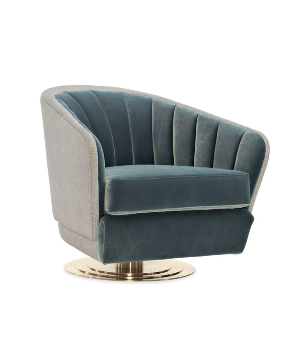 MODERN EDGE - CONCENTRIC SWIVEL CHAIR - Al Rugaib Furniture (4729708642400)
