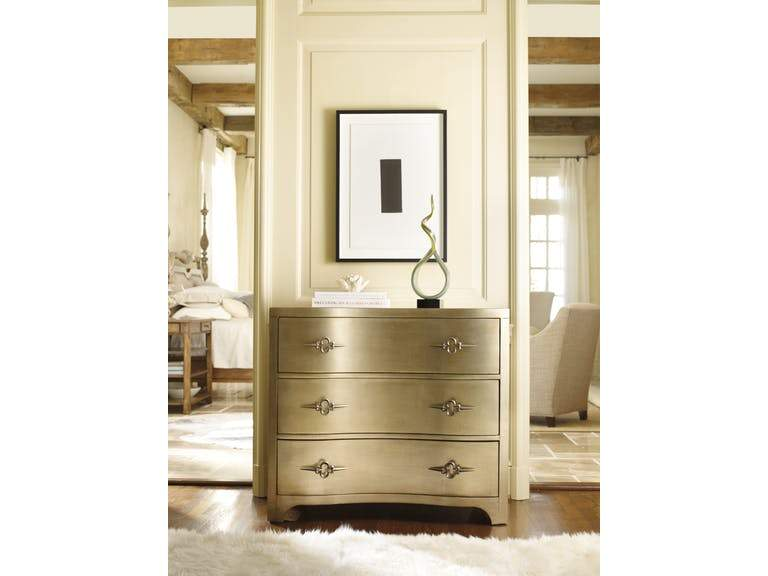 THREE DRAWER SHAPED FRONT GOLD - Al Rugaib Furniture (658710364188)