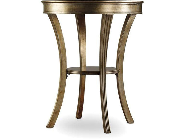 Round Mirror Accent Table - Al Rugaib Furniture (658697879580)