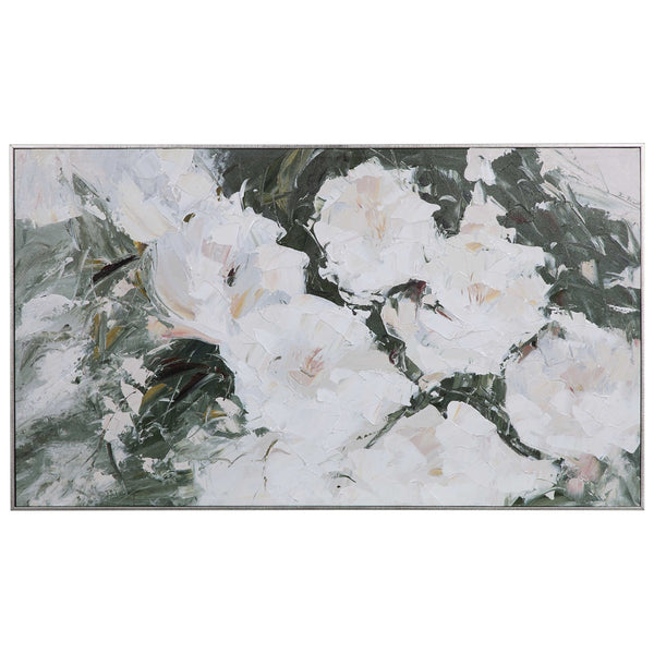 SWEETBAY MAGNOLIAS HAND PAINTED CANVAS - Al Rugaib Furniture (4688828399712)