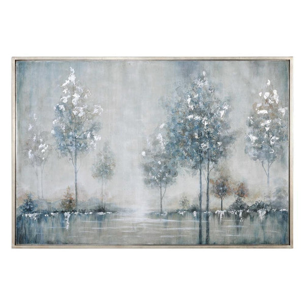 WALK IN THE MEADOW HAND PAINTED CANVAS - Al Rugaib Furniture (4483213721696)