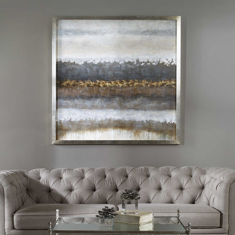 LAYERS HAND PAINTED CANVAS - Al Rugaib Furniture (4489870278752)