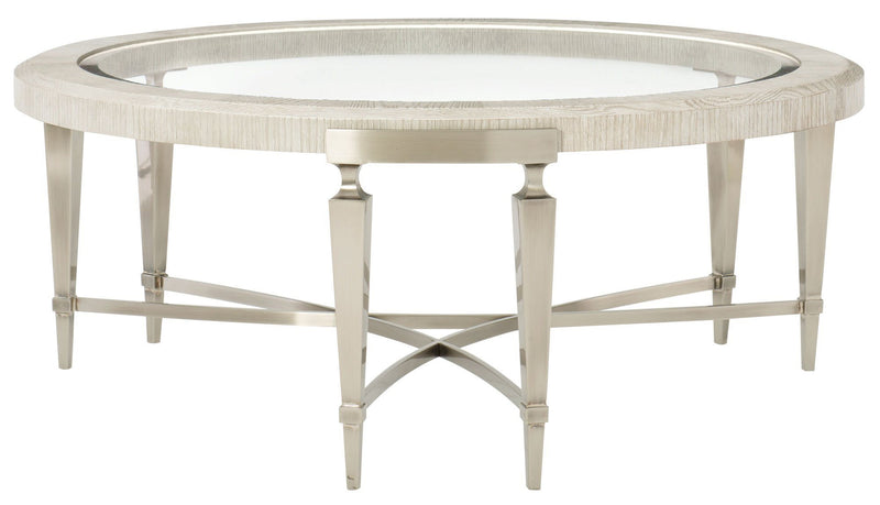 Domaine Blanc Round Cocktail Table - Al Rugaib Furniture (1856293994592)