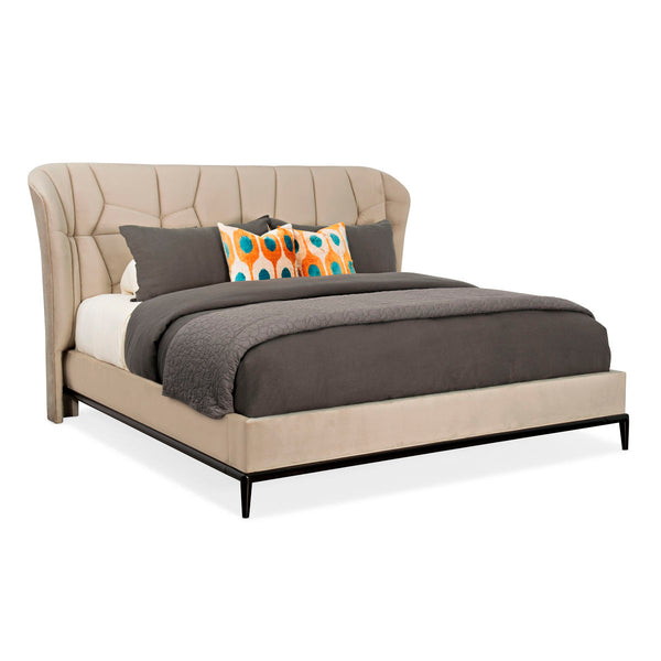 MODERN EDGE - VECTOR UPH BED - QUEEN - Al Rugaib Furniture (4729710444640)