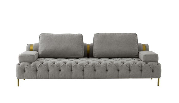 Golden Brushed Sofa (4602179387488)