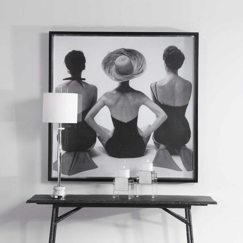 LADIES' SWIMWEAR, 1959 FRAMED PRINT (4510658363488)