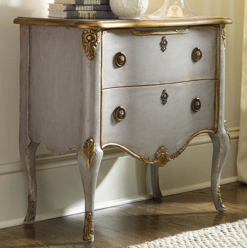 FRENCH TWO DRAWER CHEST - Al Rugaib Furniture (9258412370)