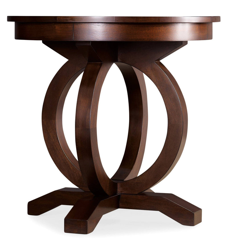 Kinsey Round End Table - Al Rugaib Furniture (9258411858)
