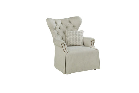 Ava Bezel - Tufted Back Chair