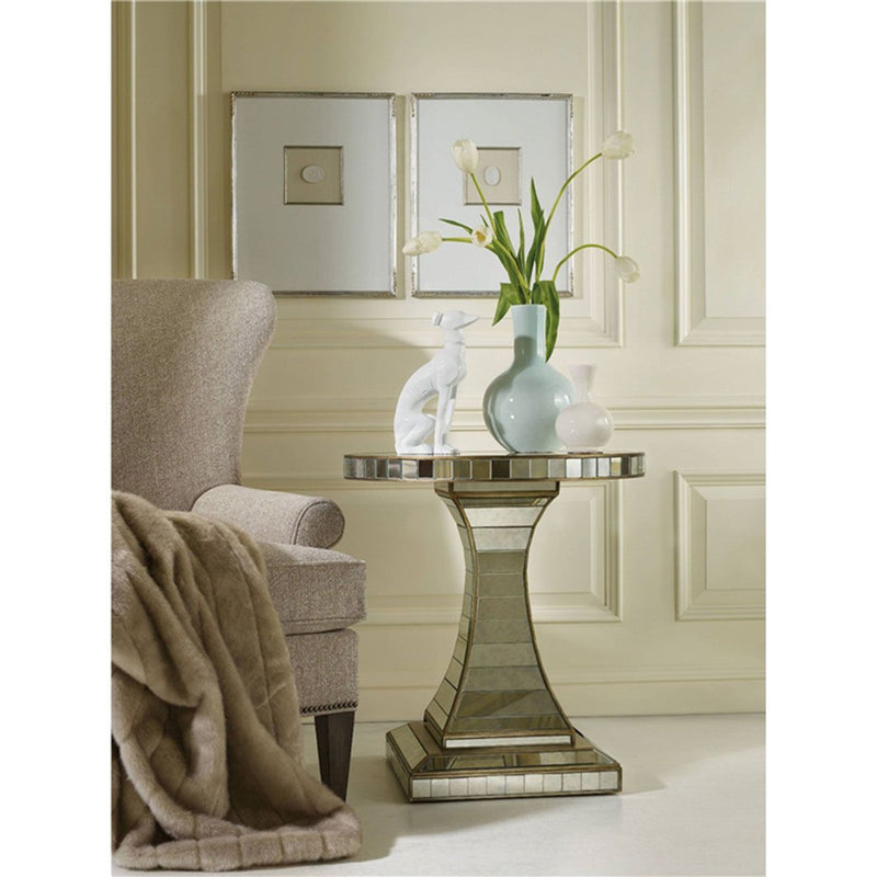 Hooker - Melange Looking Glass Accent Table (2093636157536)
