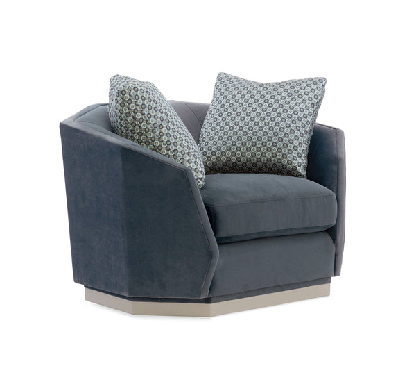 MODERN EXPRESSIONS - SWIVEL CHAIR & 1/2 - Al Rugaib Furniture (4729747996768)