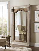 Floor Mirror w/Jewelry Armoire Storage - Al Rugaib Furniture (2107702018144)