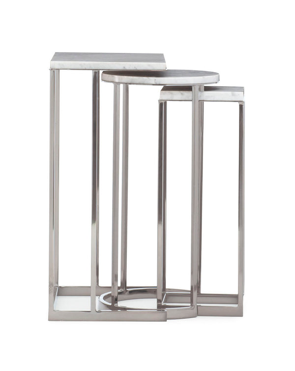 MODERN REPETITION - EXPOSITION NESTING END TABLES - Al Rugaib Furniture (4730721632352)