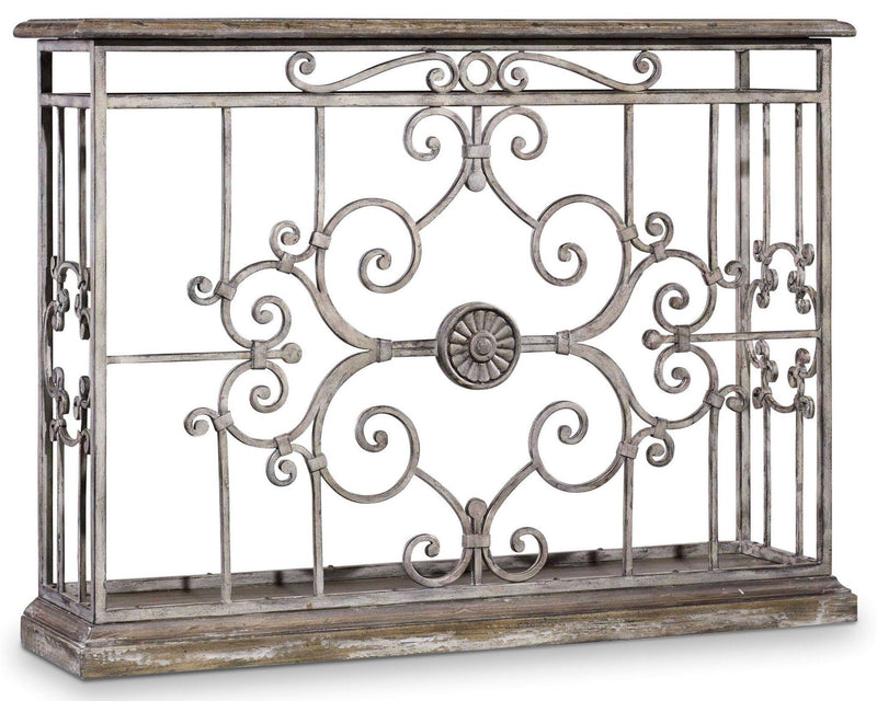 Chatelet Metal Console - Al Rugaib Furniture (9258410706)