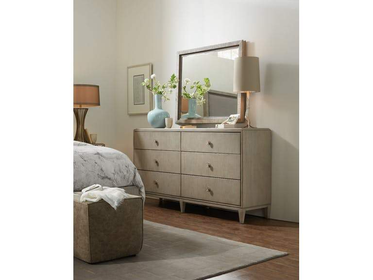 Elixir Six-Drawer Dresser - Al Rugaib Furniture (526209581084)