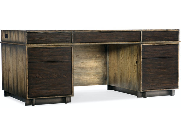 Home Office Crafted Executive Desk - Al Rugaib Furniture (4685971456096)