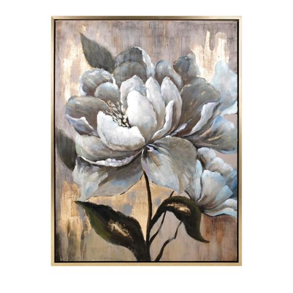 Herbaceous Framed Oil Painting - Al Rugaib Furniture (486475759644)