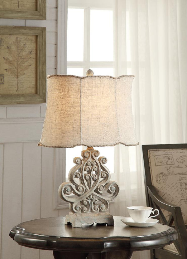 Sarah Table Lamp - Al Rugaib Furniture (68178771996)
