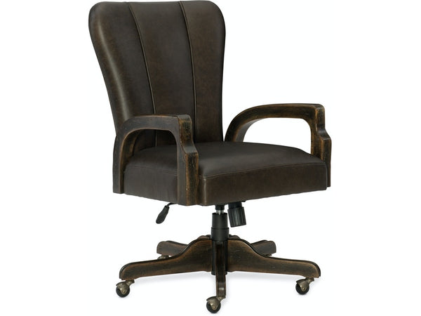 Home Office Crafted Desk Chair - Al Rugaib Furniture (4685971619936)