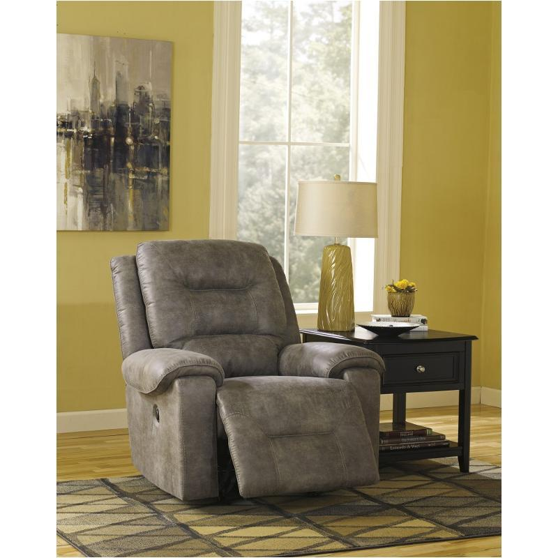Smoke Rocker Recliner - Al Rugaib Furniture (4654840807520)