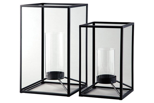 Dimtrois Lantern (Set of 2) - Al Rugaib Furniture (1964730187872)