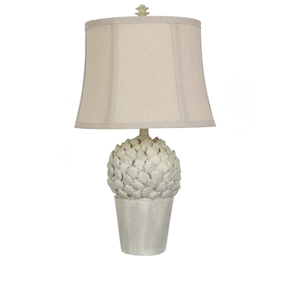 Potted Artichoke Table Lamp - Al Rugaib Furniture (4494520778848)