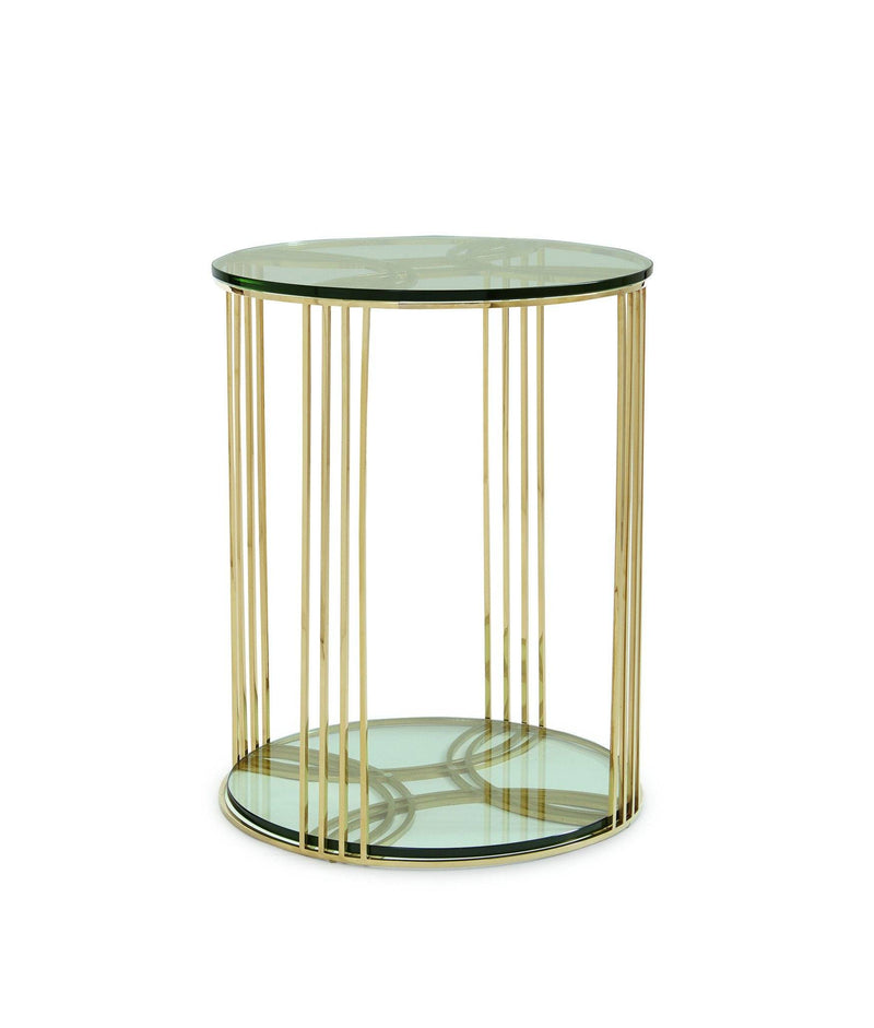 Everly - Round Side Table - Al Rugaib Furniture (9470514002)