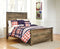 Trinell - Brown Full Panel Bed - Al Rugaib Furniture (4488597831776)
