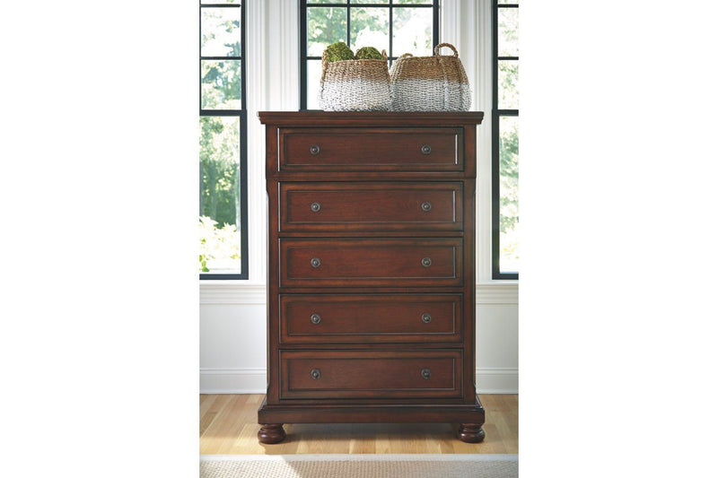 Porter Chest of Drawers - Al Rugaib Furniture (1885759930464)