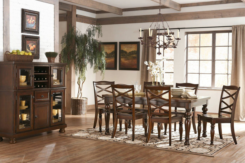 Porter Dining Room Table - Al Rugaib Furniture (775657783392)