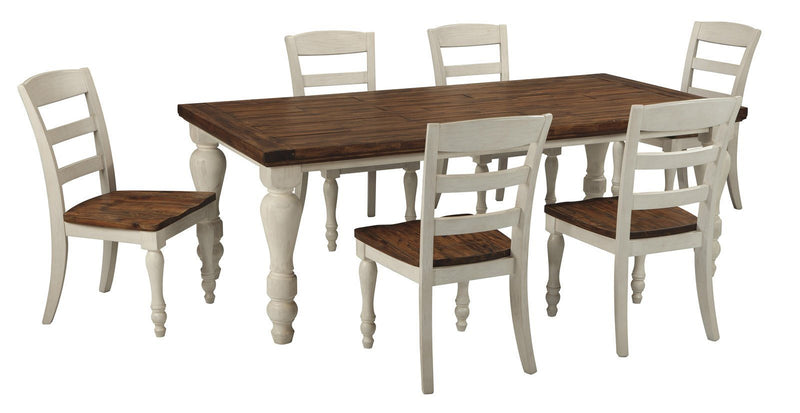 Marsilona Dining Room Table - Al Rugaib Furniture (8767626514)