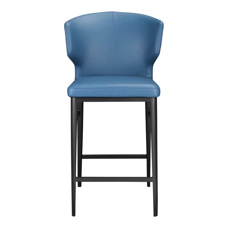 Delanyey Counter Stool Steel Blue - Al Rugaib Furniture (4583209238624)